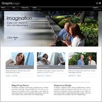 Responsive mega drop down menu website templates bizzy ceo mega menu website layout pronofoot35fo Image collections