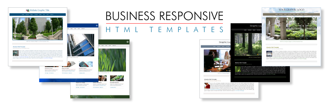 Business RWD HTML Website Templates