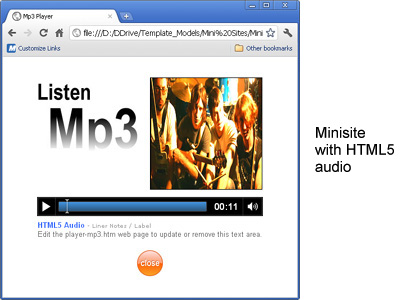 Html5 audio mp3 player for templates html5 audio maxwellsz