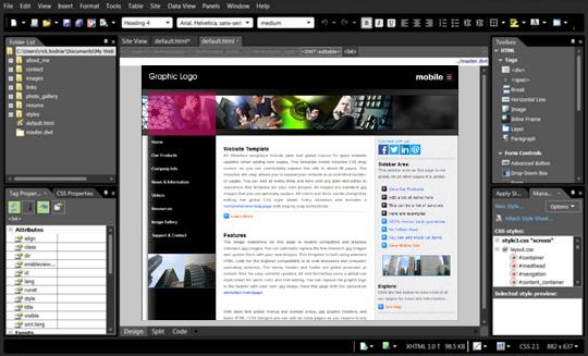 Expression Web Editing Basics